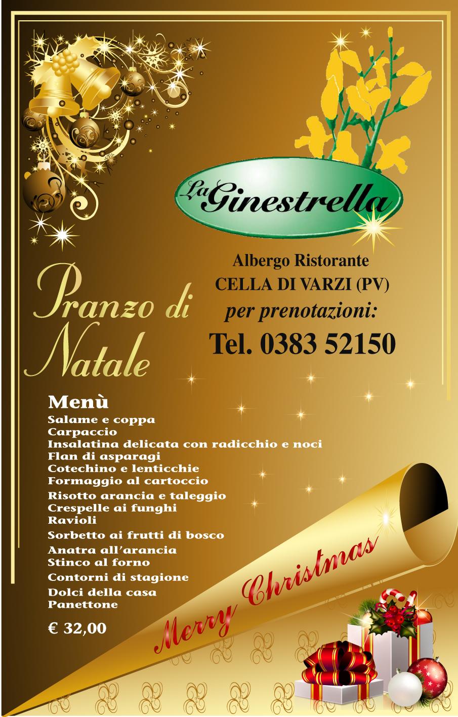 La Ginestrella, pranzo di Natale 2012