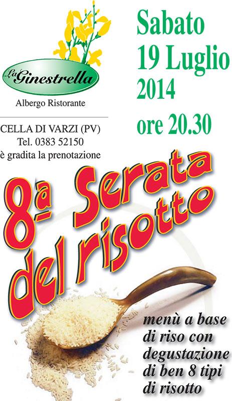 8 Serata Del Risotto - La Ginestrella