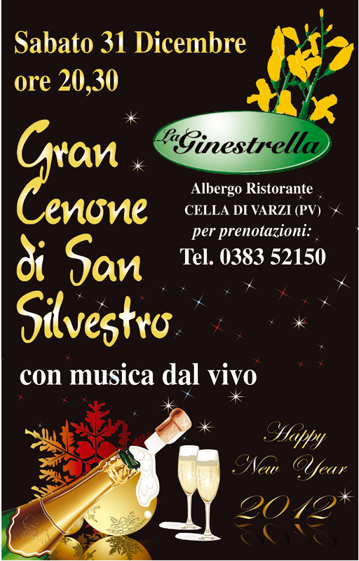 La Ginestrella, Capodanno 2011/2012