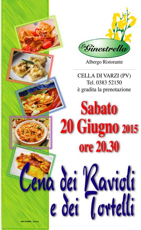 Cena dei Ravioli e dei Tortelli 2015