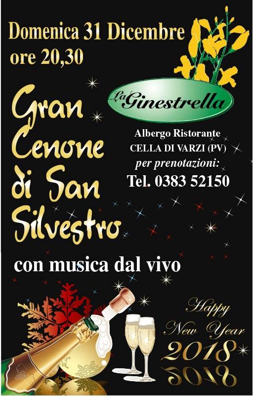 La Ginestrella, Capodanno 2018