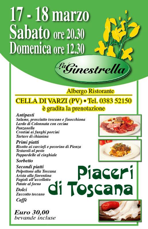 Cena Toscana 2018 La Ginestrella